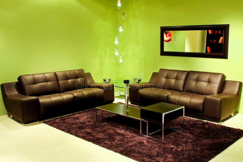 grünes wohnzimmer lizenzfreie stockfotos - bild: 10204908, Wohnzimmer