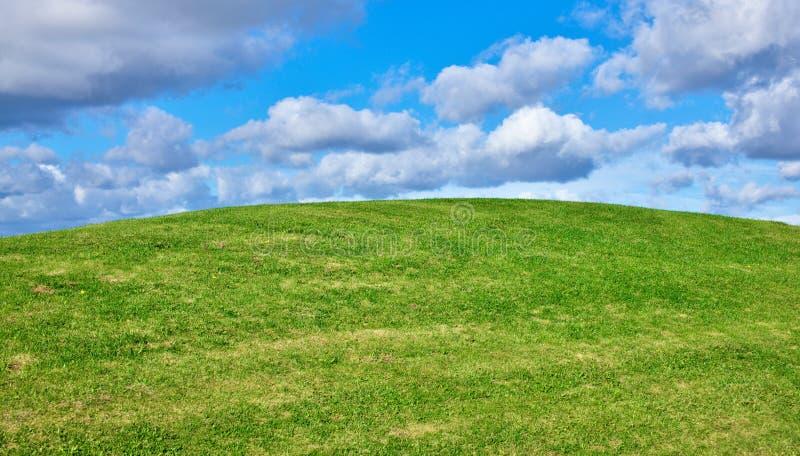 Grünhügelansicht stockfoto