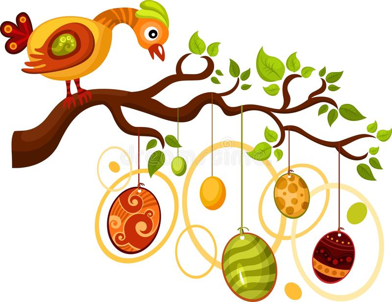 grępluje Easter ilustracja wektor