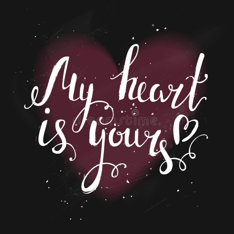 grępluje mój portfolio valentines powitanie obraz royalty free