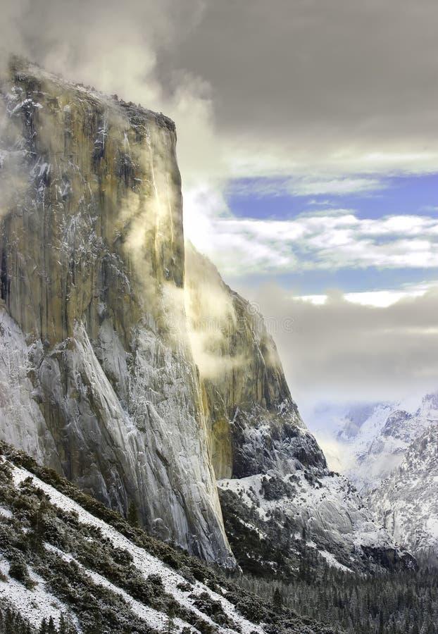Gr Capitan, Nationale Yosemite stock afbeeldingen