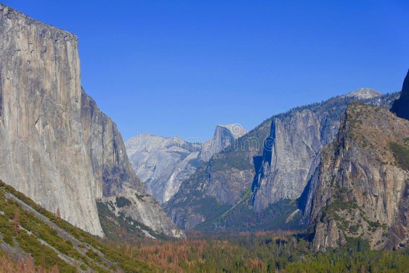 Gr Capitan, Yosemite, Californië, de V.S. stock foto
