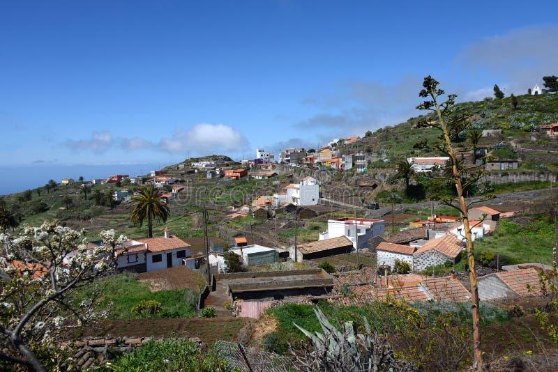 Gr Cercado, Gomera royalty-vrije stock foto
