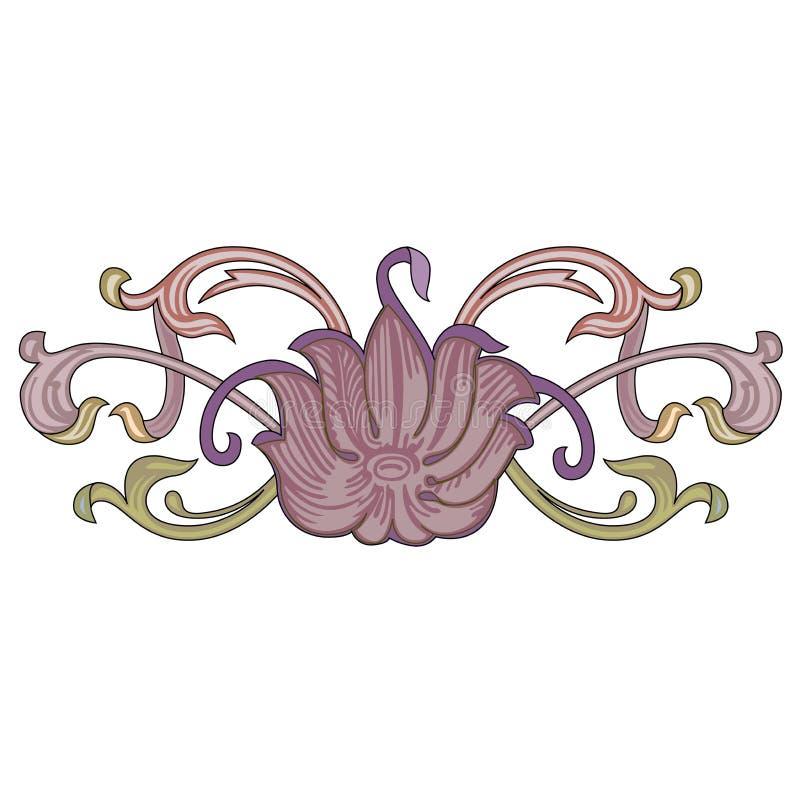 Gr?fico colorido decorativo dos ornamento do mundo do mosaico oriental abstrato ilustração do vetor