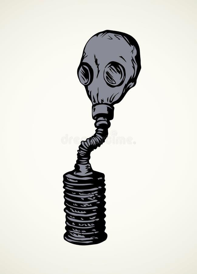 Gr?fico del vector Gas mask libre illustration