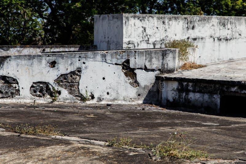 Gr fortIin, Leon, Nicaragua stock afbeelding