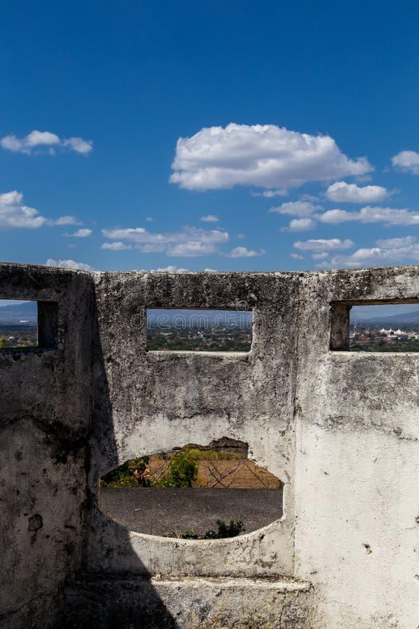 Gr fortIin, Leon, Nicaragua stock afbeeldingen