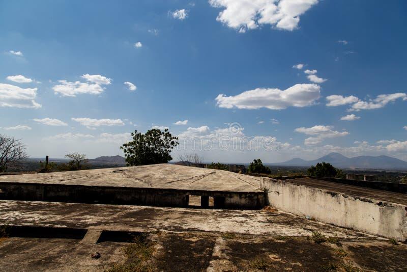 Gr fortIin, Leon, Nicaragua stock fotografie