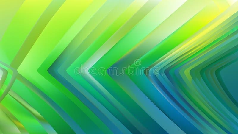 Gr?n bl? bakgrund f?r design f?r Aqua Background Beautiful elegant illustrationgrafik royaltyfri illustrationer