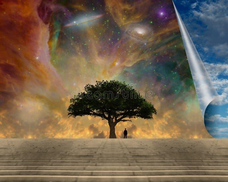 Gr?ner Baum des Lebens vektor abbildung