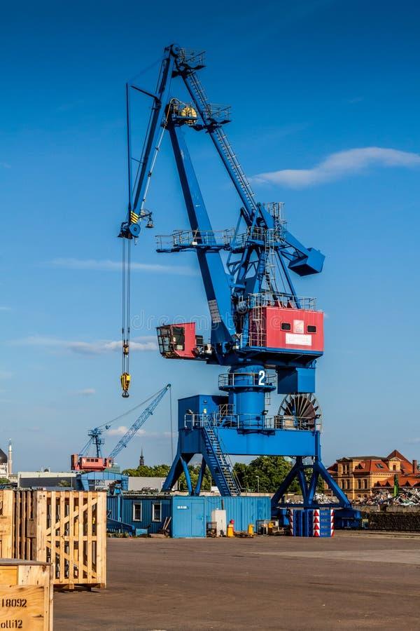 Gr?a portuaria en Dresden fotos de archivo