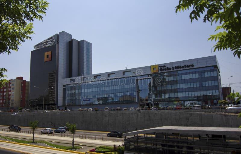 Graña y蒙特罗,建筑和工程学商业公司 图库摄影