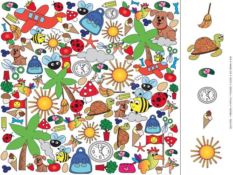 Gra dla dzieci zdjęcie royalty free