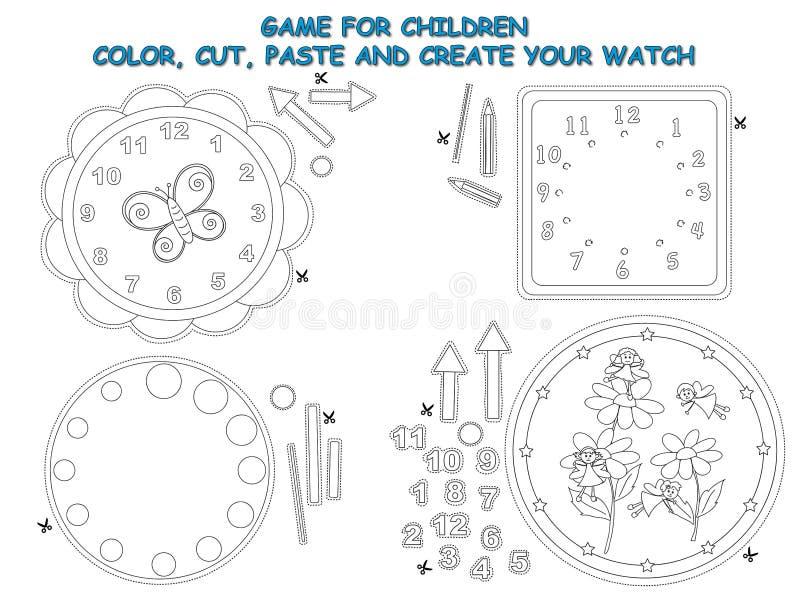 Gra dla dzieci ilustracja wektor