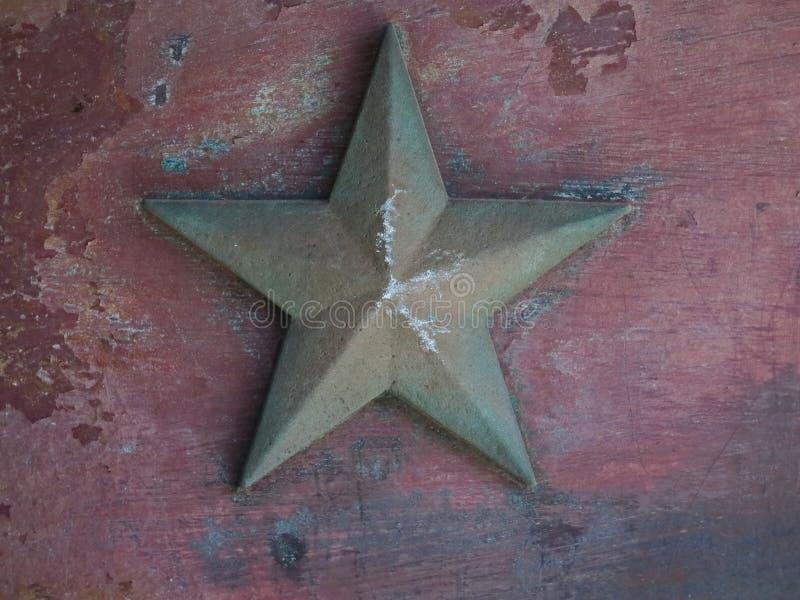 Gwiazdowy metalu tło obraz stock