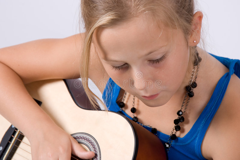 gra gitara zdjęcia royalty free