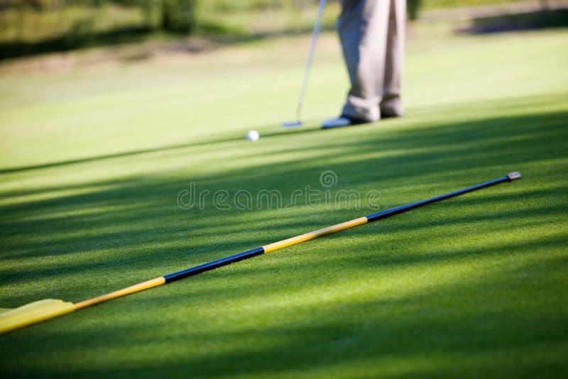 gra w golfa obraz stock