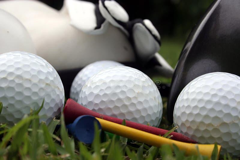 gra w golfa zdjęcia royalty free
