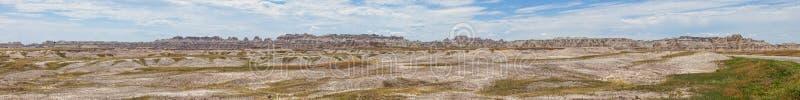 180 graadpanorama van Zuid-Dakota badlands royalty-vrije stock afbeelding