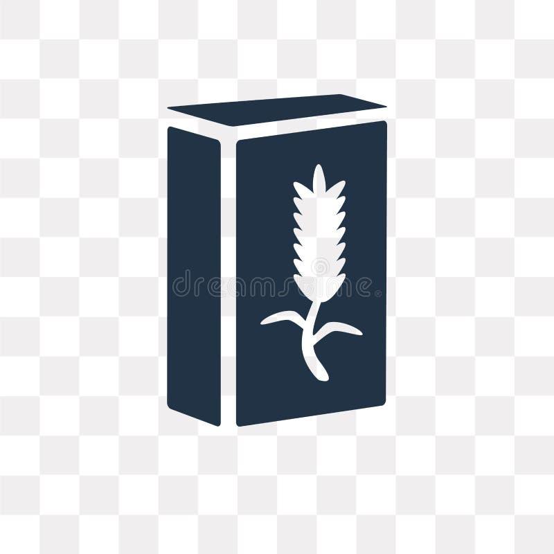 Graangewassen vectordiepictogram op transparante achtergrond, Graangewassen wordt geïsoleerd stock illustratie