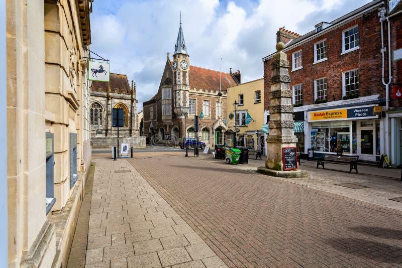 Graanuitwisseling Dorchester Dorset royalty-vrije stock afbeeldingen