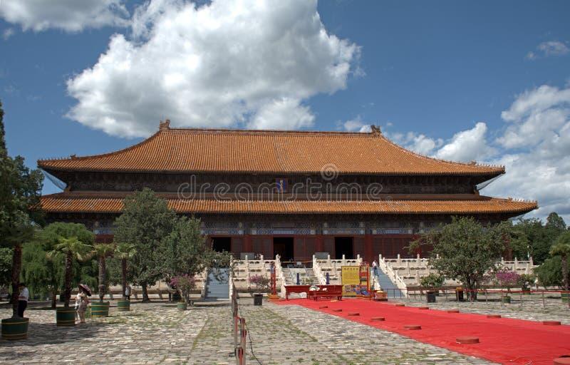 Grab des Kaisers Yongle der Ming-Dynastie, Changping, China stockfotos
