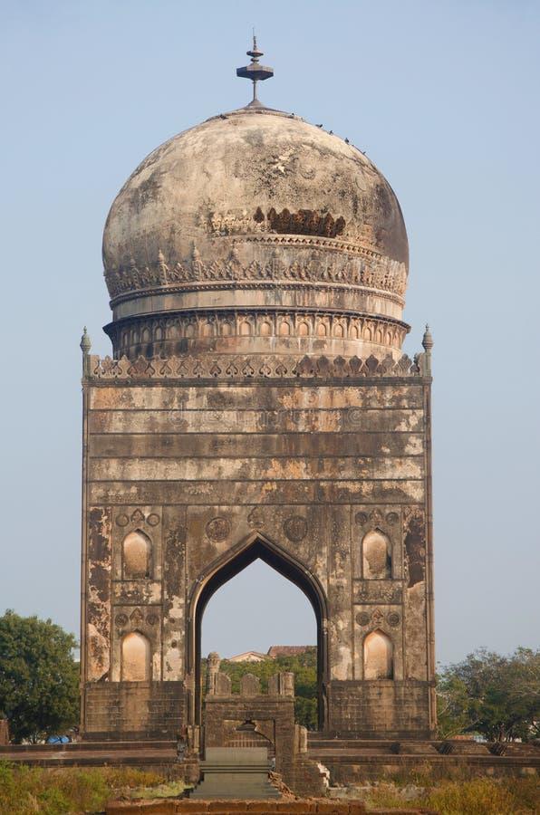 Grab von Ali Barid Shah, Bidar, Karnataka-Staat von Indien lizenzfreies stockfoto