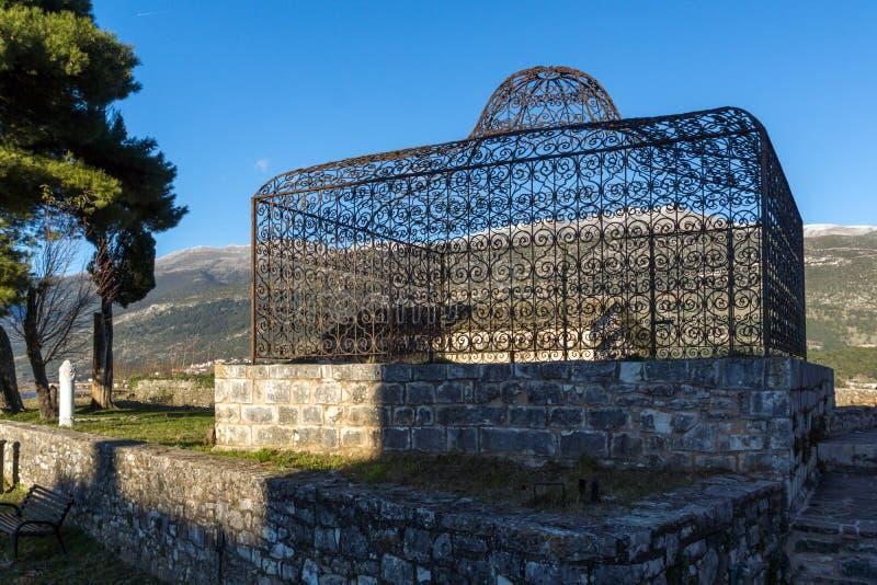 Grab von Ali Pasha nahe Fethiye-Moschee im Schloss der Stadt von Ioannina, Griechenland lizenzfreies stockfoto