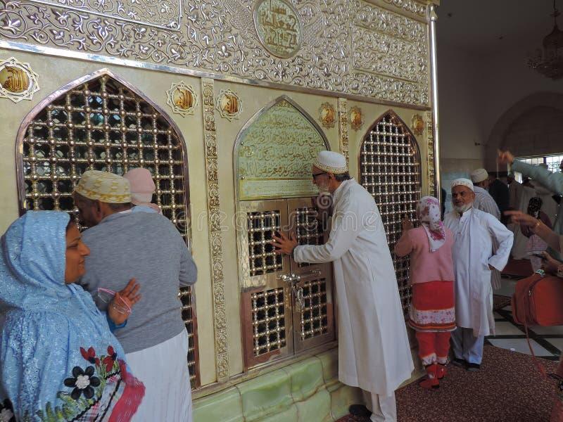 Grab von Jafar al-Tayyar in Jordanien lizenzfreies stockfoto