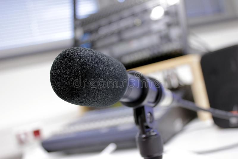 Grabación audio 2 fotos de archivo libres de regalías