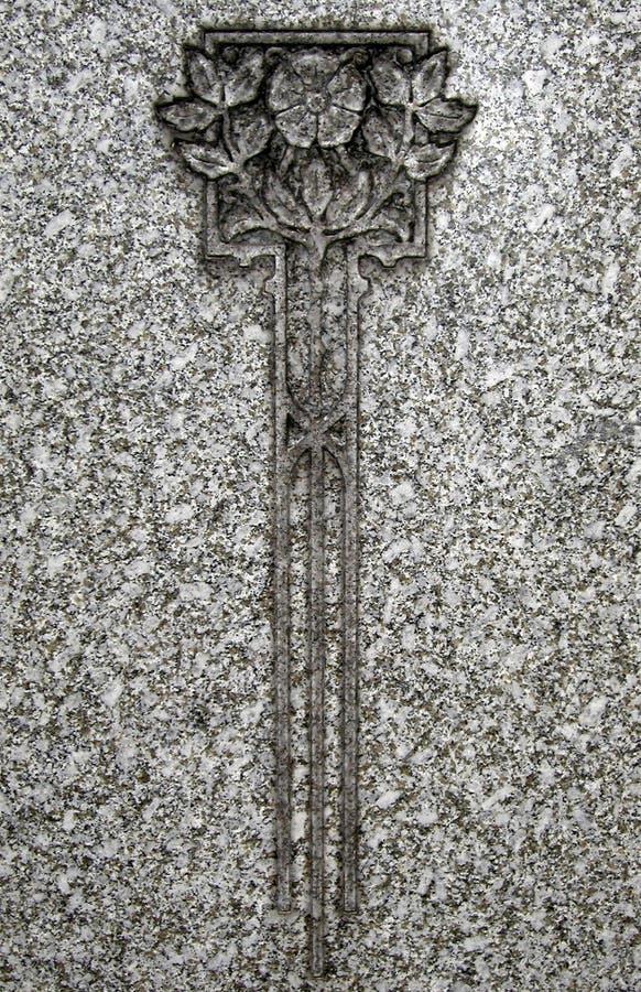 Grabado de la lápida mortuaria fotografía de archivo libre de regalías