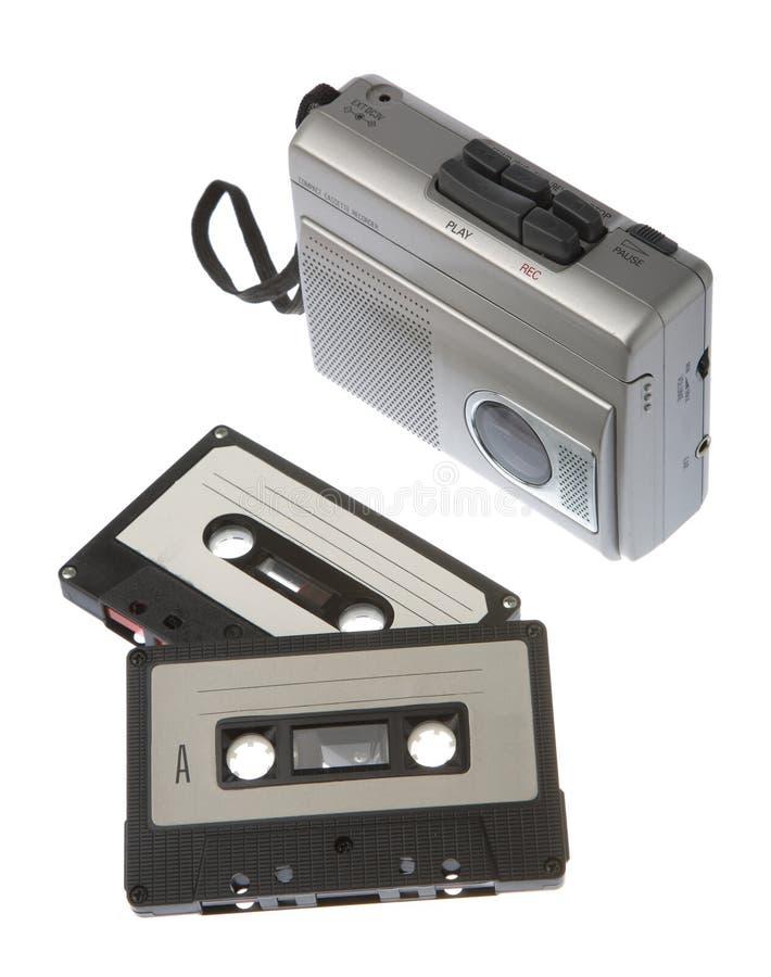 Grabadora de cinta imagenes de archivo