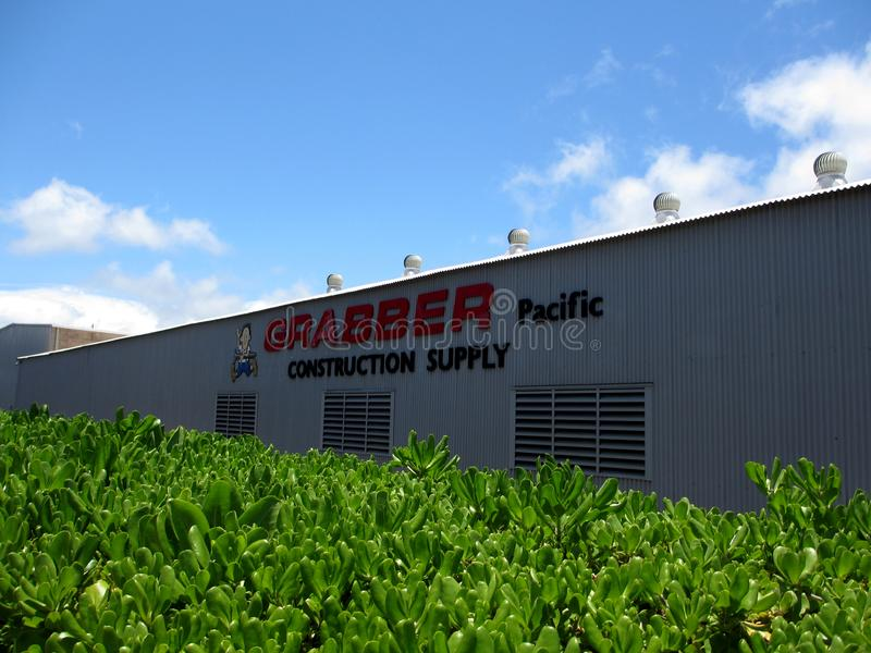Grabber Pacific Construction Supply royalty free stock photography