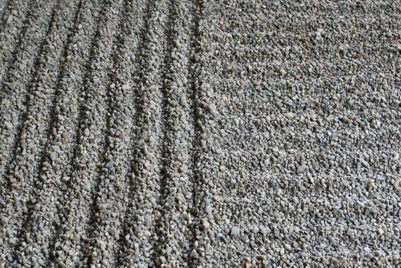 Grabijący piaska ogród zdjęcie stock