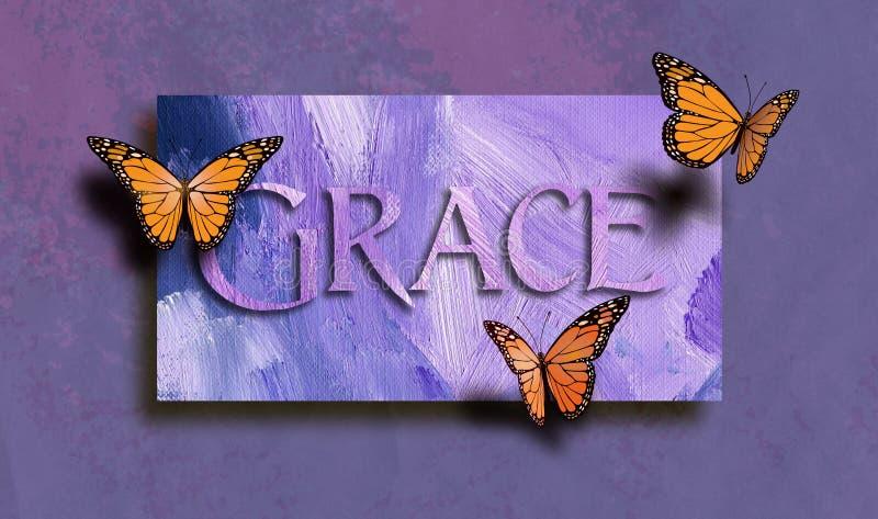 Grace και ελεύθερες πεταλούδες ελεύθερη απεικόνιση δικαιώματος