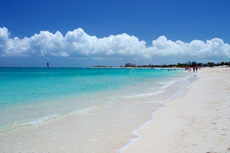 Grace Bay beach, Providenciales royalty free stock photos