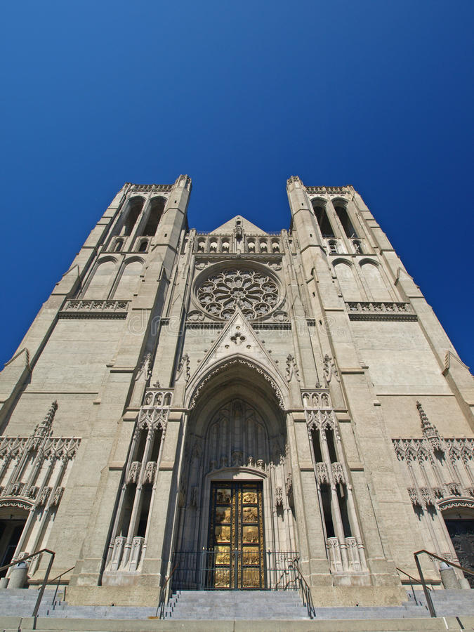 Grace Cathedral royalty free stock photos