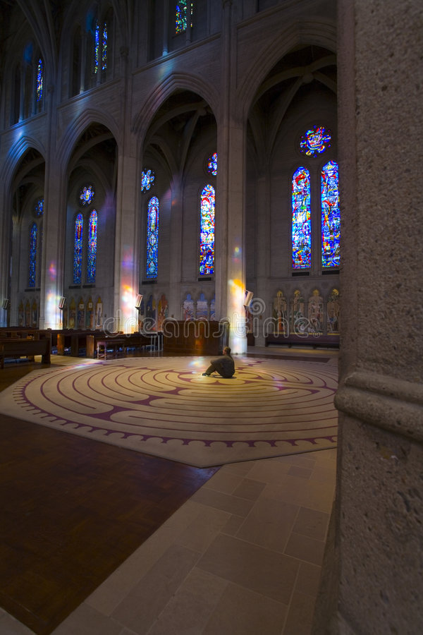 Grace Cathedral royalty free stock photography