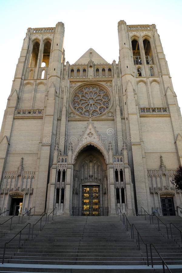 Download Grace Cathedral stock photo. Image of facade, historic - 28752182