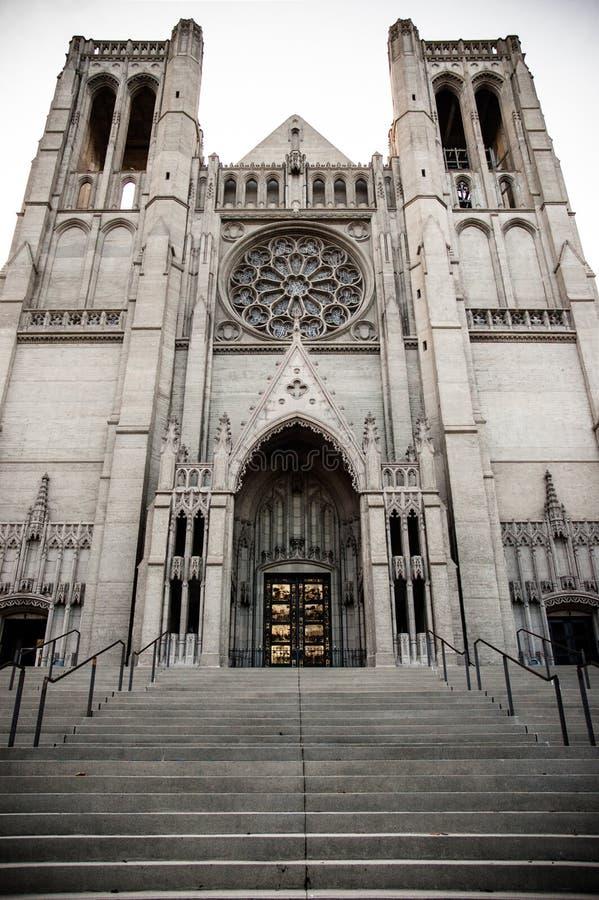Grace Cathedral de San Francisco foto de stock royalty free