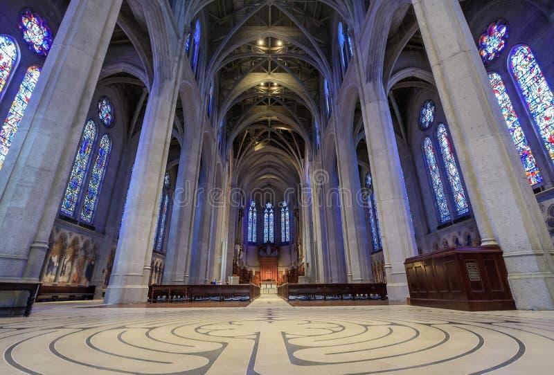 Grace Cathedral em San Francisco imagens de stock royalty free