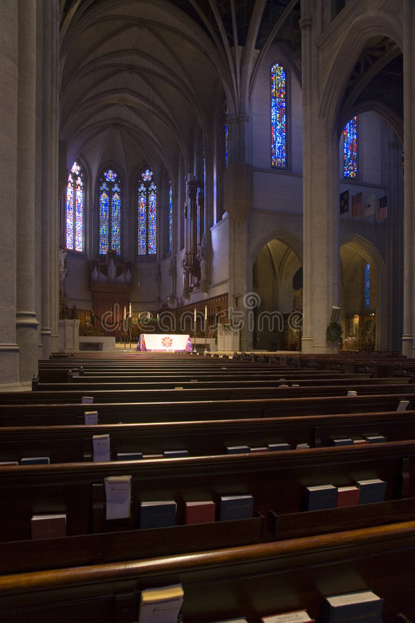 Grace Cathedral in San Francisco royalty free stock photography
