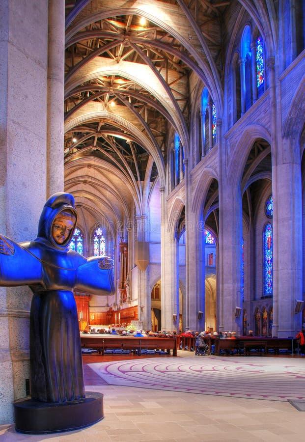 Grace Cathedral, San Francisco royalty free stock photo