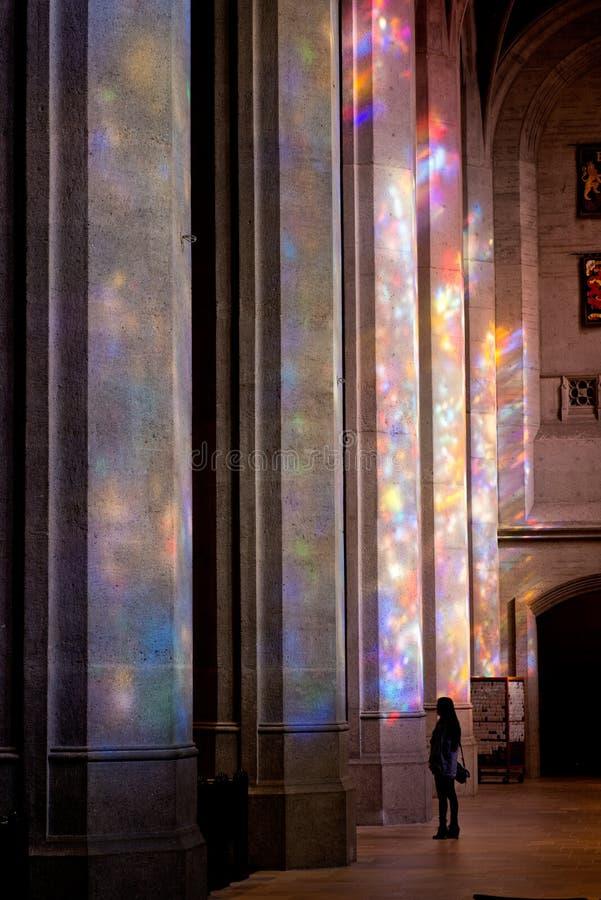 Grace Cathedral San Francisco California stock fotografie