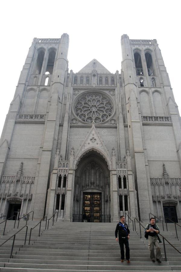 Grace Cathedral, San Francisco, USA stock image