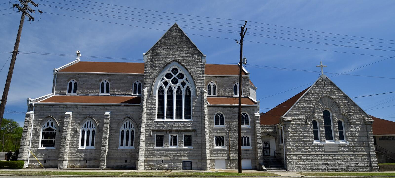 Grace Episcopal Church lizenzfreies stockfoto