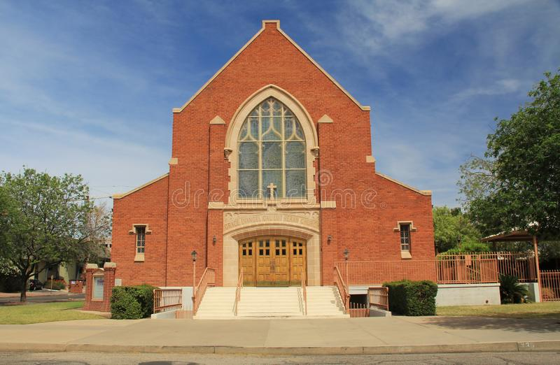 Grace Evangelical Lutheran Church em Tucson imagem de stock