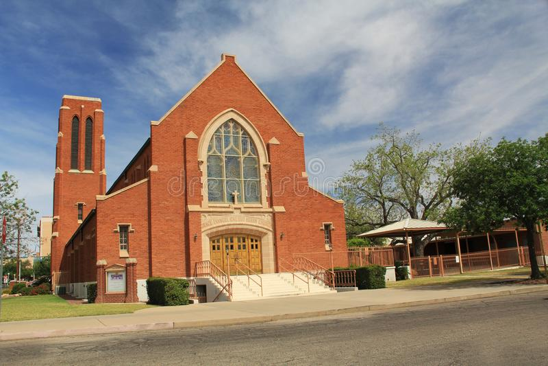 Grace Evangelical Lutheran Church em Tucson foto de stock royalty free