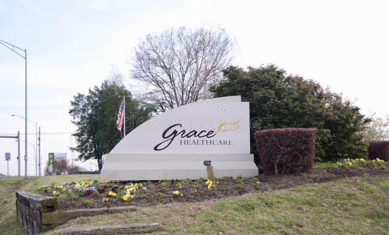 Grace Healthcare, Cordova, TN. Grace Healthcare of Cordova provides skilled nursing care, rehabilitation, and Alzheimer`s and dementia care in Cordova, TN just stock photography