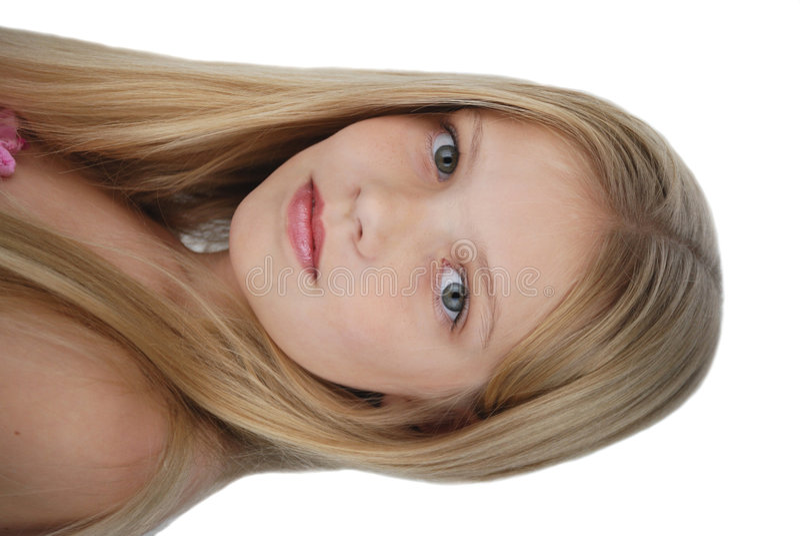 grace portret young modelowych zdjęcia stock